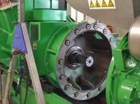 Grüner Elektromotor